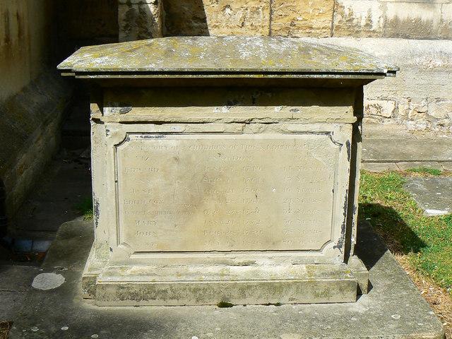 Family tomb, St Mary's Church, Cheltenham