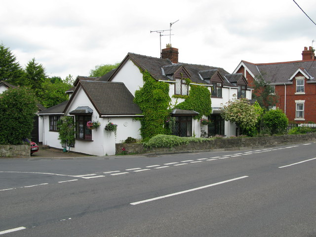 Formerly a village branch of LLoyds Bank, now a private house