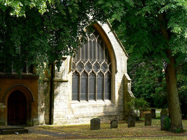 St Mary's Church western aspect, Cheltenham