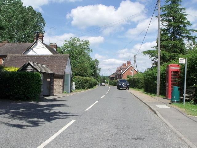 Maplehurst village centre, West Sussex