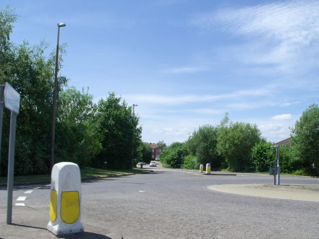 Roundabout north of Henfield