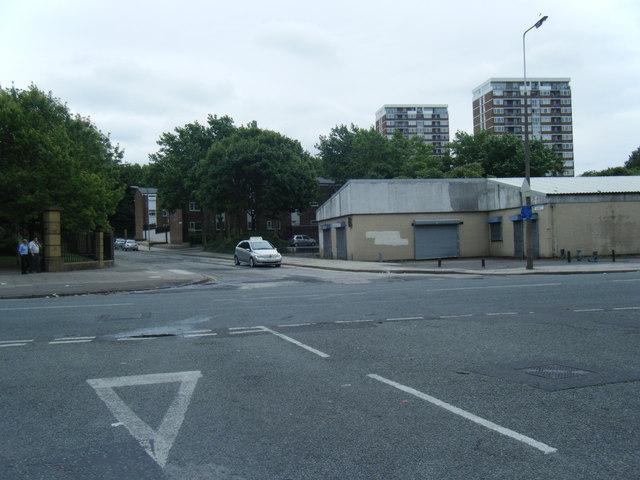 Great Homer Street/Buckingham Street junction