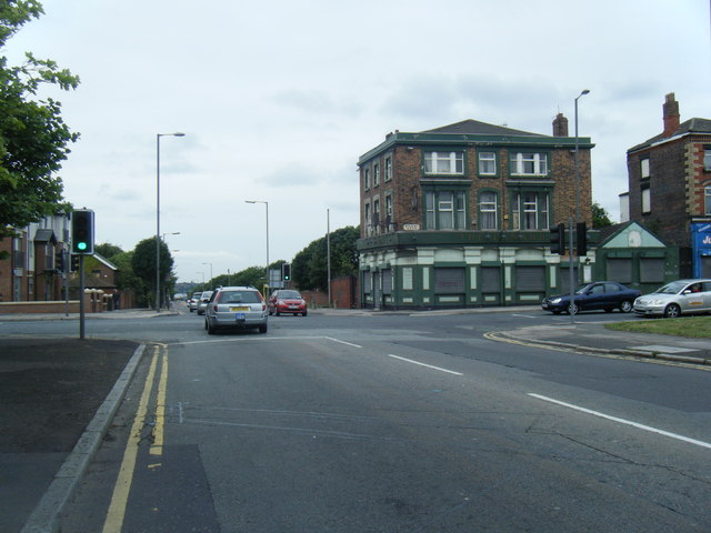 Boundary Street/Stanley Road junction