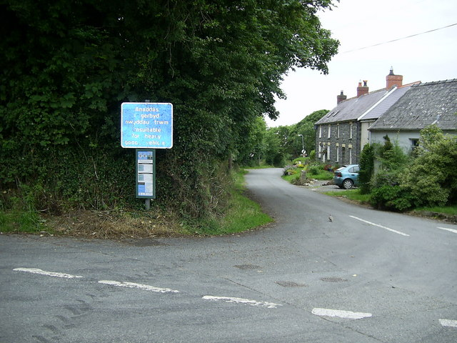 Bus Stop for the Strumble Shuttle, St.Nicholas