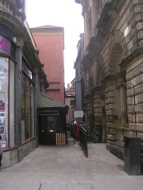 Change Alley - Albion Street