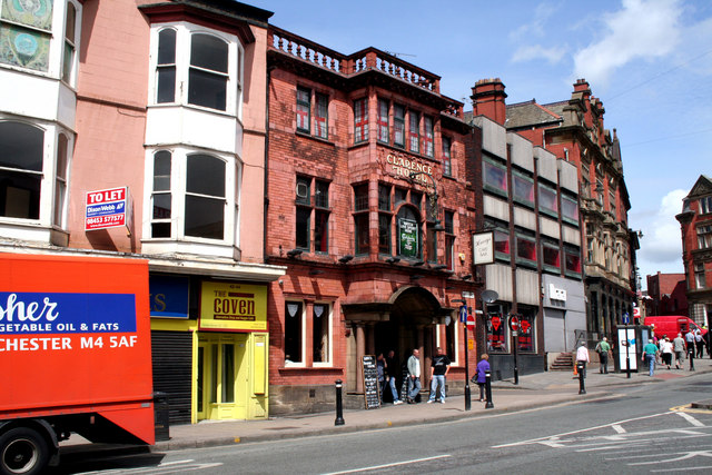 Wigan:  The 'Clarence Hotel'
