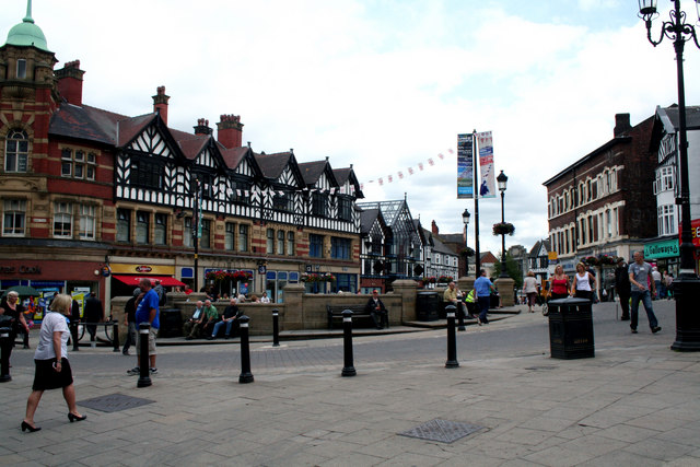 Wigan:  Market Place