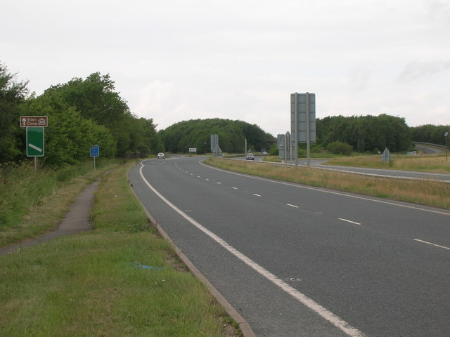 A64 westbound towards Malton