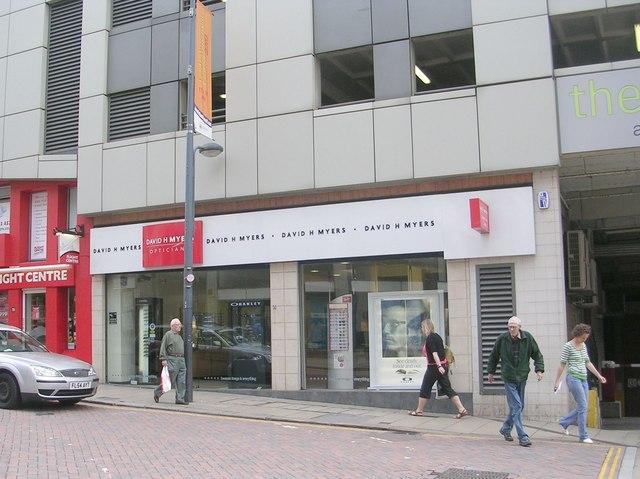 David H Myers Opticians - Albion Street