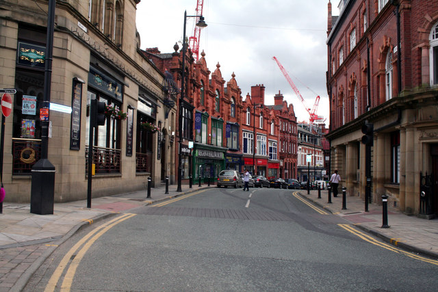 Wigan:  Library Street