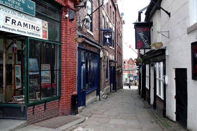 Wigan:  The Wiend