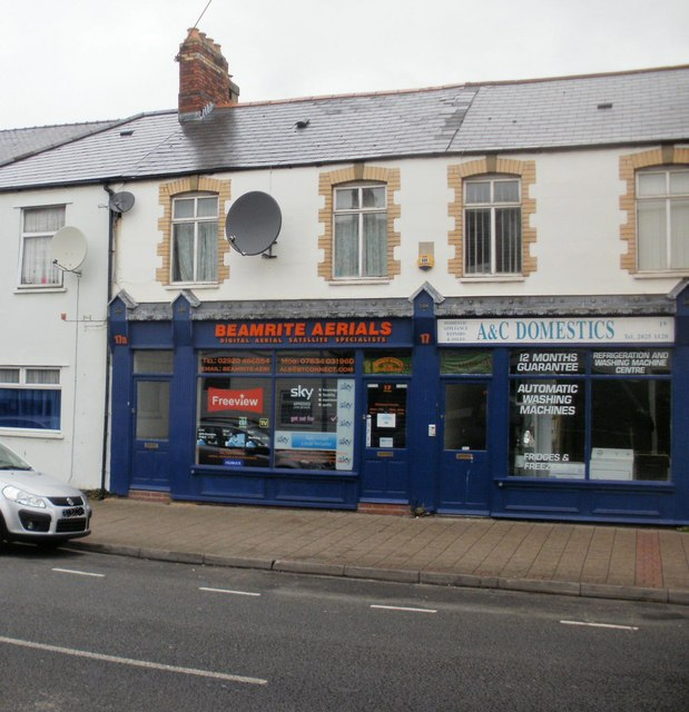 Beamrite and A&C, Broadway, Cardiff