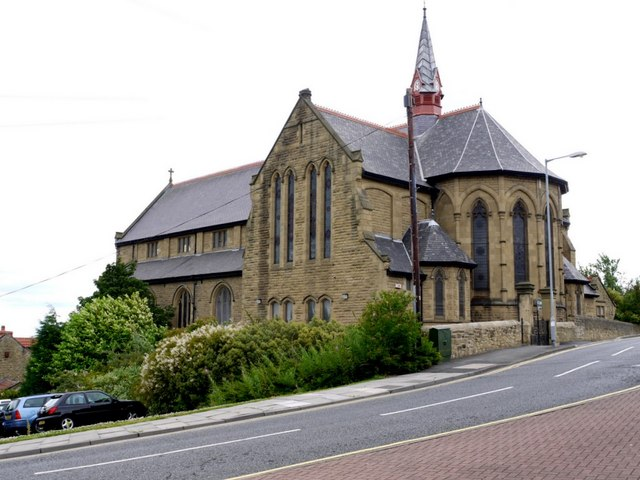 St Patrick's RC Church, Felling