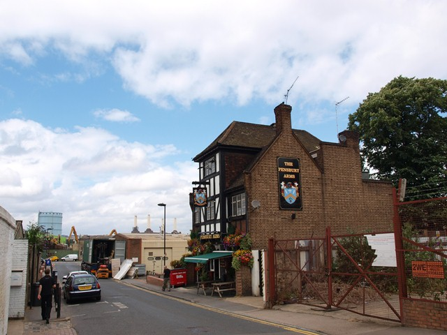 The Pensbury Arms, Pensbury Street, Nine Elms
