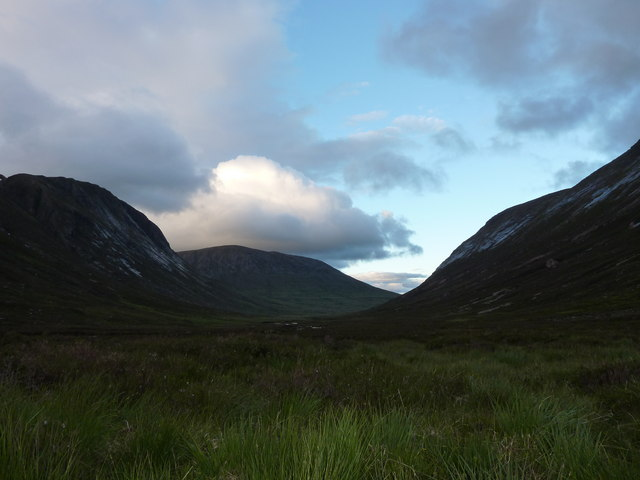 The floor of Glen Geusachan