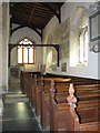 TF8411 : St Mary's church in Sporle - south aisle by Evelyn Simak