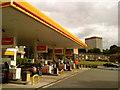 SP0383 : Shell Garage, Selly Oak by Andrew Abbott