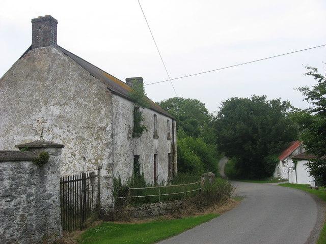 Farmhouse at Lougher, Co. Meath