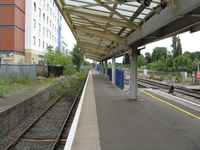 Slough Station - platform 6