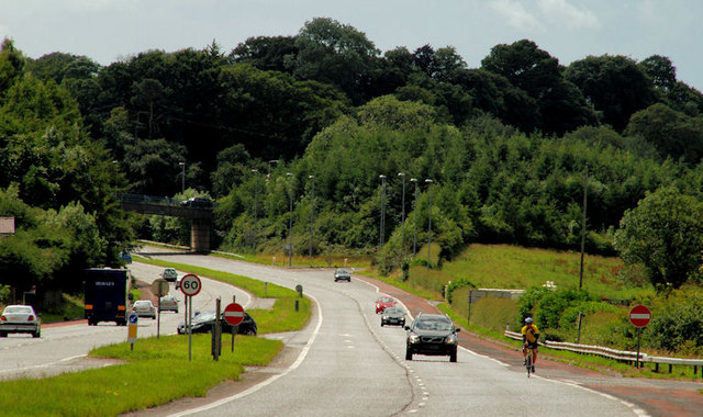 The Dromore bypass (southbound)