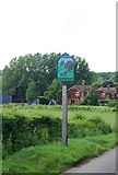 TQ5552 : Village sign, Underriver by N Chadwick