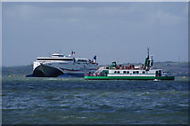 SZ6299 : Gosport Ferry, Portsmouth Harbour by Peter Trimming