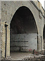 TQ3478 : Railway arch by Raymouth Road (2) by Stephen Craven
