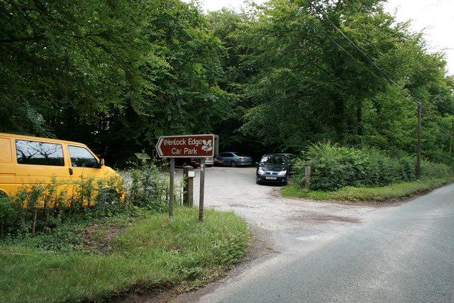 Wenlock Edge Car Park