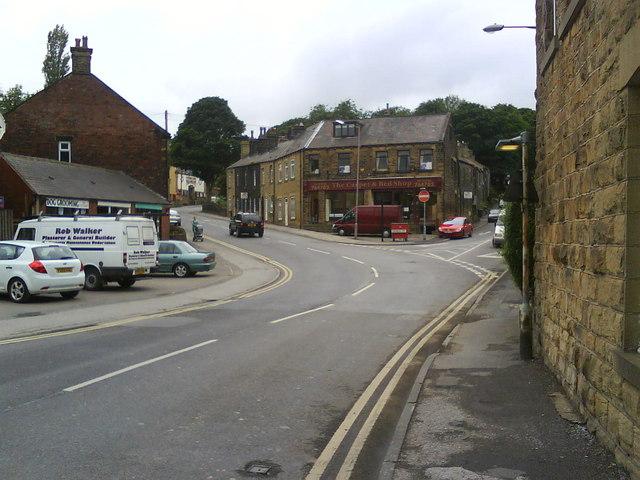 Penistone town centre