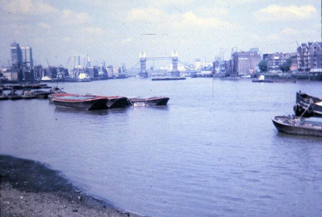 Tower Bridge from Cherry Garden Pier