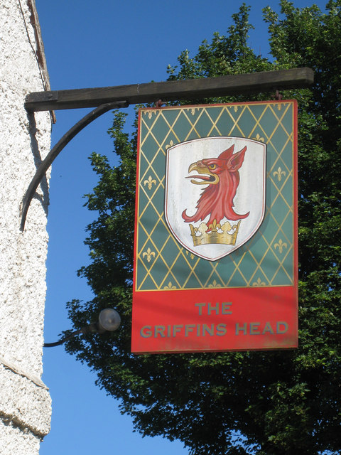 Griffin's Head sign
