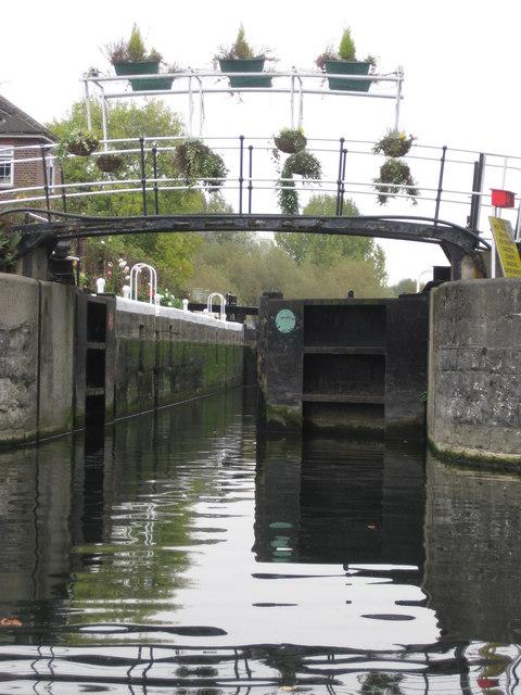 Carthagena Lock on River Lea