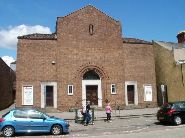 Calvary Baptist church, Canton, Cardiff
