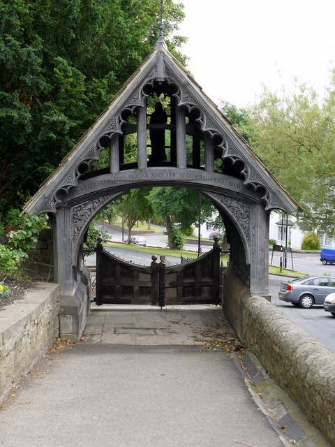 Lych Gate, Church of St Michael and all Angels