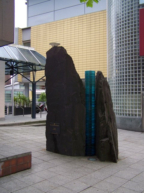 Sculpture On Broad Street, Birmingham
