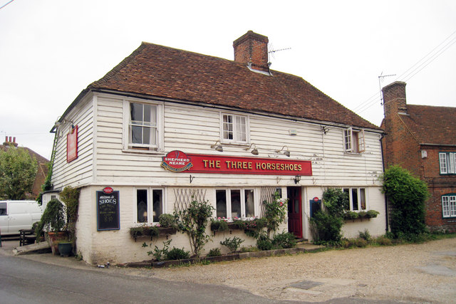 The Three Horseshoes, Hernhill