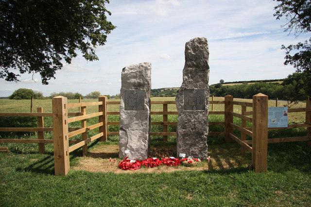 Hoveringham Lancaster Memorial