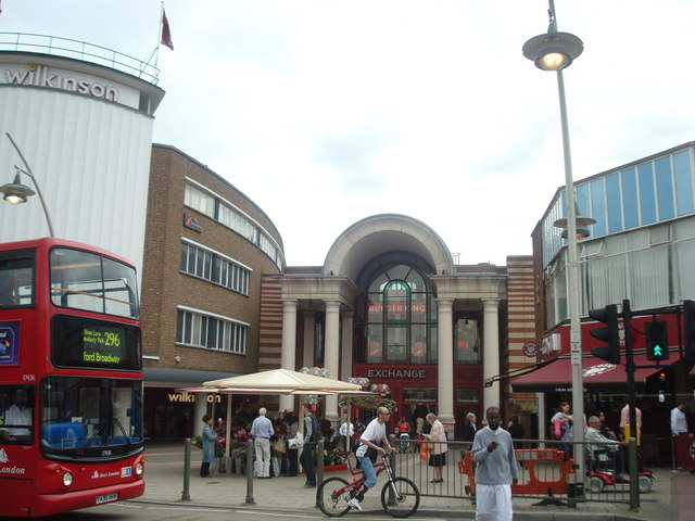 Ilford Exchange shopping centre (C) Stacey Harris :: Geograph Britain ...