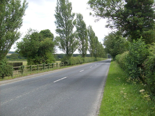 B1258 towards West Knapton