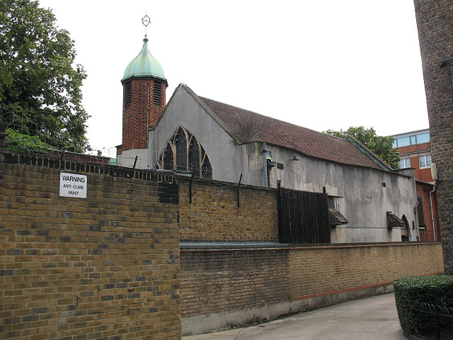 East end of All Hallows Church
