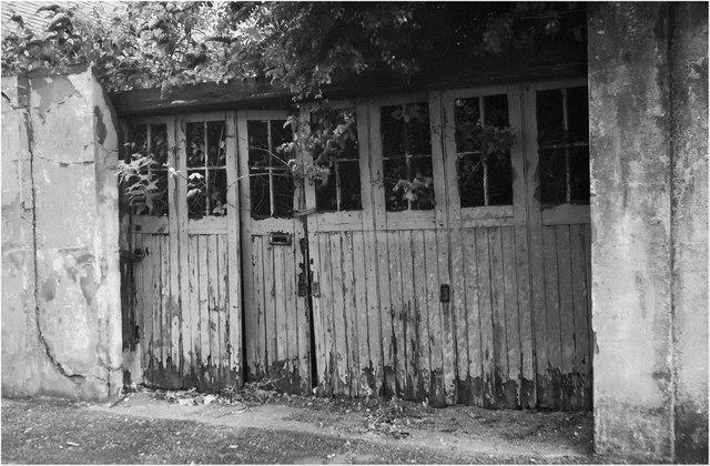Old Garage Doors : Old garage door norman atkinson cc by sa geograph