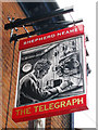 TR3751 : The Telegraph sign by Oast House Archive