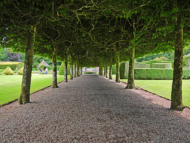 The Italian Garden, Glamis Castle
