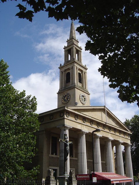 St John, Waterloo, London