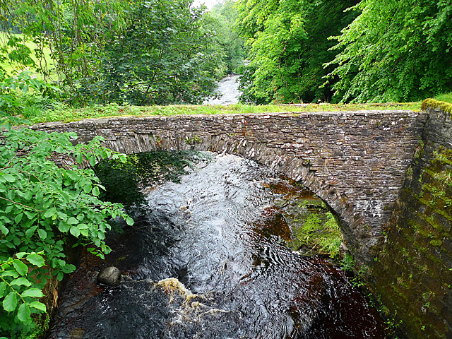 Old packhorse bridge, Braco