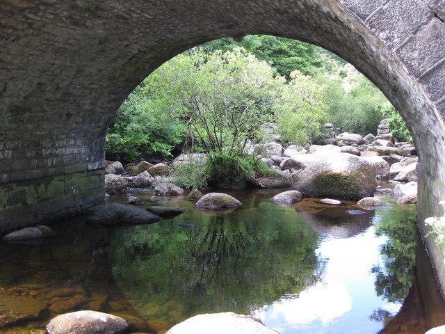 Dartmeet, the bridge