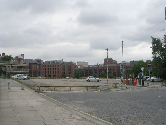 Site of former leeds international pool betty longbottom geograph britain and ireland for Leeds international swimming pool