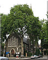 TQ3878 : Christ Church and St John, Poplar by Stephen Craven
