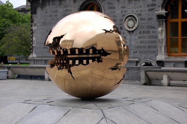 Sculpture at  TCD