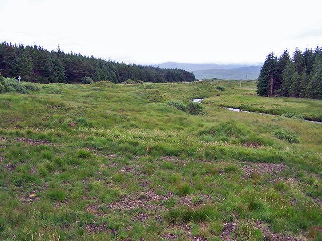 Drumlins in Glen Varragill